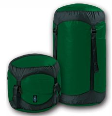 Sea to Summit - Ultra-Sil Compression Sack - Pakzak maat XL, olijfgroen/zwart/groen