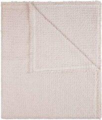 House in Style Luxe deken Kos 100% katoen, 140 x 260 cm, wit