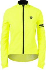 Gele AGU Essential Regenjack - Dames - Maat M - Yellow