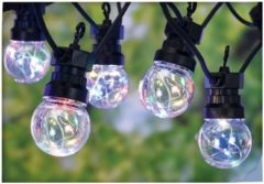Party Lighting Feestverlichting 10 multicolor-lamps - 50 LED's - 5cm