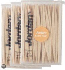 Jordan Extra dun - 3x 140 st - Tandenstoker - Voordeelverpakking