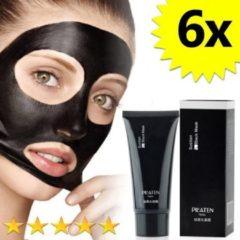 6 x Blackhead Masker Deluxe   Pilaten   Mee eters verwijderen dankzij het Zwarte masker