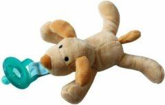 Beige JillyBee - Knuffelspeen - Knuffel - Speen - Hond