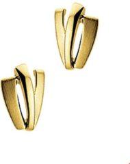 Gele Kasius Trendjuwelier huiscollectie 4011573 Gouden oorbellen