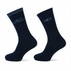Marineblauwe O'Neill Casual Dames Sokken Marine   2-Pack 889002