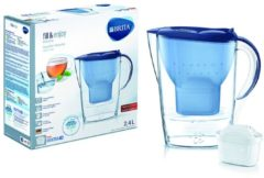 Brita MarellaCoolMXplus bl (4 Stück) - Wasserfilter m.MaxtraPlus-Filter MarellaCoolMXplus bl