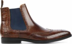 Bruine Melvin & Hamilton Mannen Leren Boots - Greg 2 - 43