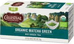 Celestial Seasonings Celestial Season Organic Matcha groen (20st)