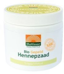 Mattisson HealthStyle Bio Hennepzaad Gepeld 250gr