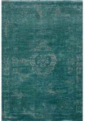 Louis de Poortere Laagpolig vloerkleed Louis de Poortere 8258 Fading World Medallion Jade 170x240 cm