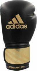 Adidas Bokshandschoenen Speed Pro Zwart/Goud 16oz