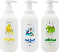 Grass Benelux Grass Milana Foam Handzeep - 3 x 500ml - Voordeelverpakking