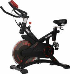 Zwarte ISE 7005-1 Biking Fietsen stille hometrainer Hartslagsensor fitnesstraining