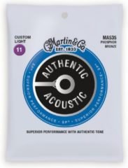 Martin Guitar MA535 Acoustic SP Phosphor Bronze Custom Light 11-52