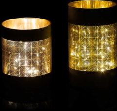 Brian by Brian Rennie LED-Windlicht-Set, 2tlg.