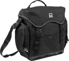 Willex Pakaftas XL Enkele Fietstas - 17 l - Zwart