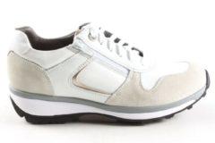 Gebroken-witte Dames Veterschoenen Xsensible Jersey 30042.3.104 Gx Off White - Maat 37
