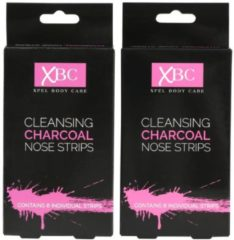 XBC XPEL Charcoal Nasen Strip - 6 St. - 2er Set