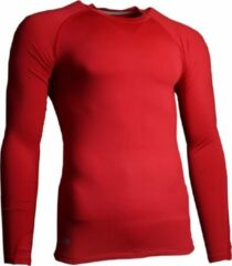 Precision Training Thermoshirt Basislaag Polyester Rood Maat Xl