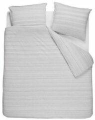 VTWonen Jersey Mele dekbedovertrek - Lits-jumeaux (240x200/220 cm + 2 slopen) - PU - Grey