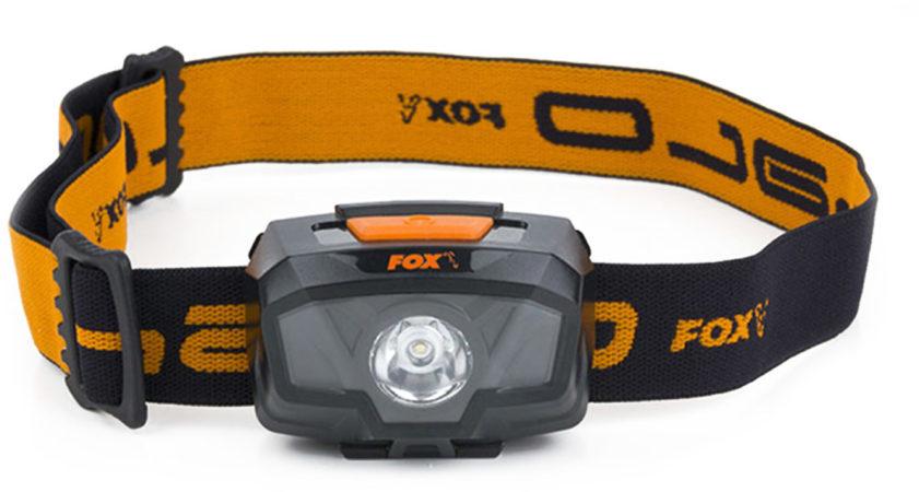 Afbeelding van Oranje Fox Halo 200 Headtorch - Hoofdlamp - Zwart