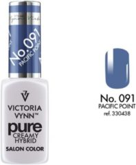 Paarse Gellak Victoria Vynn™ Gel Nagellak - Gel Polish - Pure Creamy Hybrid - 8 ml - Pacific Point - 091