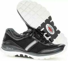 Gabor 56.966.67 Dames Wandelsneaker - Zwart - Maat 40