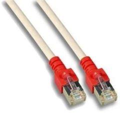 Grijze Techtube Pro - Internetkabel S/FTP CAT.5e Crossover - grijs - 3 meter