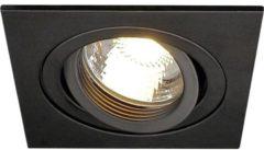 SLV 113491 New Tria Inbouwlamp Energielabel: Afhankelijk van de lamp Halogeen GU10 50 W Zwart