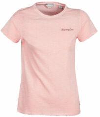 Roze T-shirt Korte Mouw Maison Scotch SS T-SHIRT