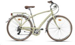 28 Zoll Herren City Fahrrad 21 Gang Montana Lunapiena Wham sand
