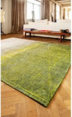 Louis de Poortere Laagpolig vloerkleed Louis de Poortere 8882 Mad Men Central Park groen 170x240 cm