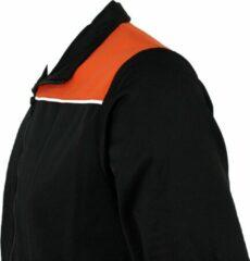 KWD Trainingspak Pantera - Zwart/oranje/wit - Maat L