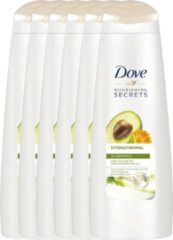 Dove Nourishing Secrets Strengthening - 6 x 250 ml - Shampoo