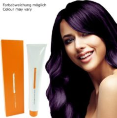Paarse Z.ONE Color The New Attitude Hair Color - 100ml - permanente kleuring crème - V Violet