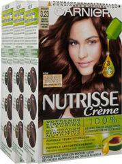 Garnier Nutrisse Creme 3.23 Goud Violet Donker Bruin Voordeelverpakking