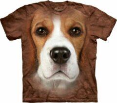 Bruine the mountain honden t shirt beagle voor