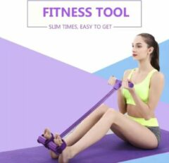 Gele Fitness Tool Fitness pedaal bands
