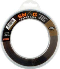 Kaki Fox Snag Leader - Trans Khaki - 50lb - 0.66mm - 80m - Khaki