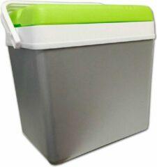 Eda plastiques Koelbox 24 liter - Groen / Grijs