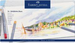 Faber Castell FC-114636 Aquarelkleurpotlood Faber-Castell Goldfaber Etui 36 Stuks