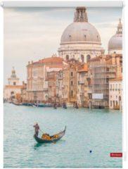 Seitenzugrollo, Lichtblick, »Venedig Canal Grande«, Klemmfix, Kettenzug, Lichtschutz, Fixmaß, ohne Bohren