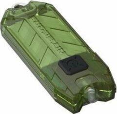 Nitecore Tube V2.0 Sleutelhangerlamp Oplaadbaar Groen Transparant