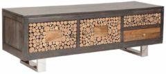 The Wood Times TV-Lowboard »Texas«, mit zwei Schubladen, Breite 145 cm