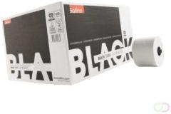 Witte Satino Black Toiletpapier met dop / Systeemrollen 2 laags 24 rollen x 100 meter ECO