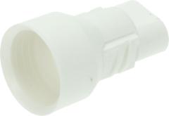 Whirlpool Lampenfassung (weiß mit 2 Kontakten) für Kühlschrank 481225528015