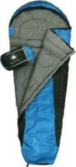 10-T Outdoor Equipment 10T Yukon 175L Camping Schlafsack bis -5°C Outdoor Mumienschlafsack 205x75cm Hüttenschlafsack mit 1400g Trekking Reiseschlafsack für 3 / 4 Jahreszeite