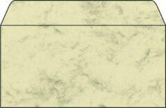 Envelop Sigel DIN lang 90g 50 stuks marmer beige