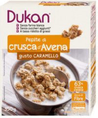 Dieta Dukan Dukan Pepite di crusca d'Avena gusto caramello 350g