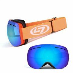 Blauwe Apeirom Columba Ski-/Snowboardbril unisex